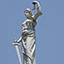 Statue of Justice from Top of New York City Hall